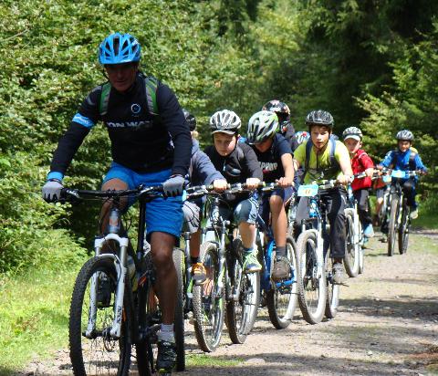 Mountainbike College im Vogelsberg